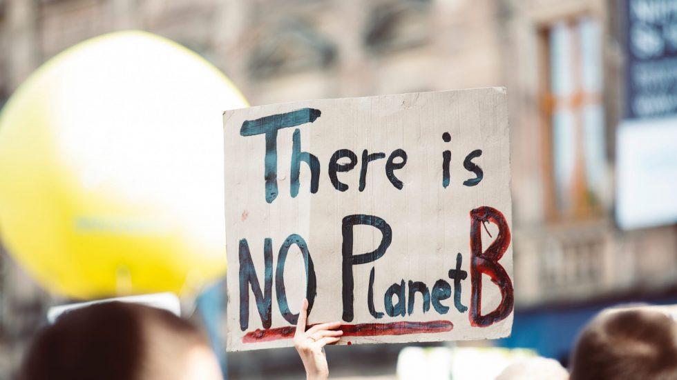There is no planet B Blog Header für Klimawandel
