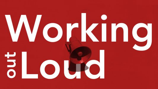 Working out loud circle cover