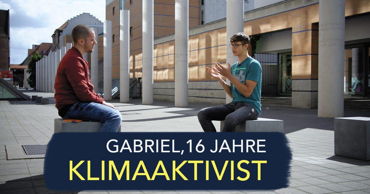 Interview mit einem Klimaaktivisten