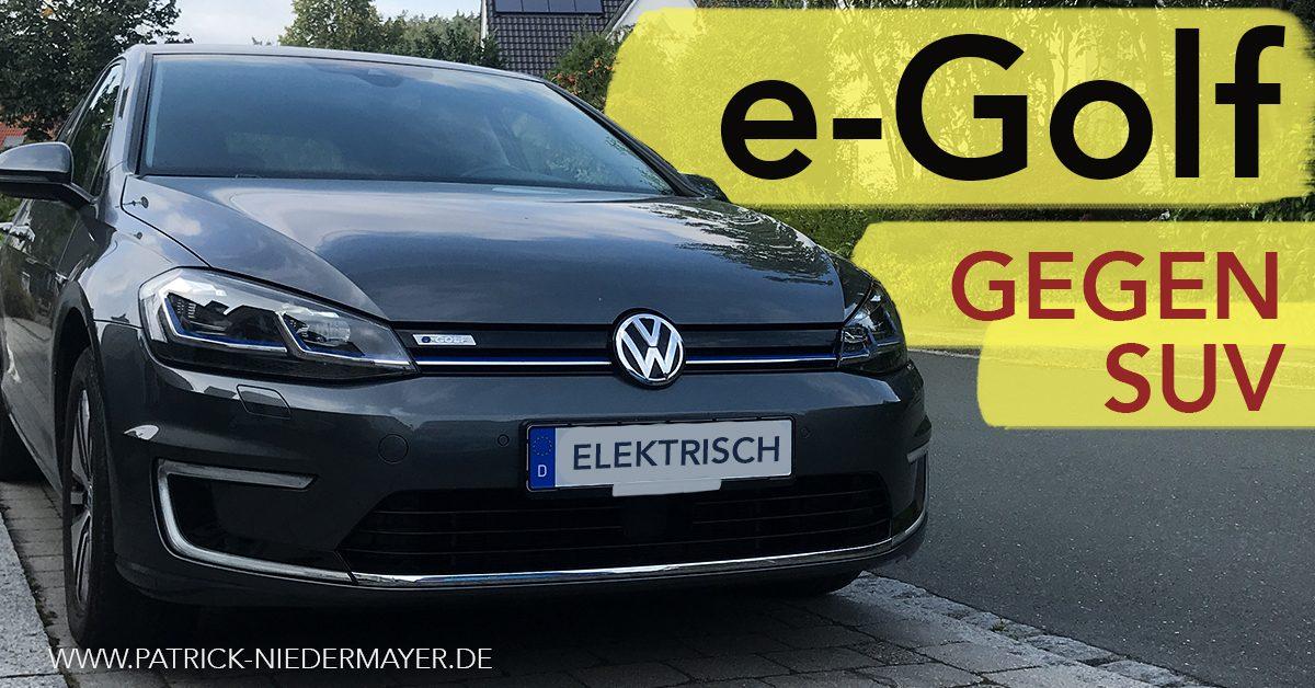 Tausche SUV gegen e-Golf