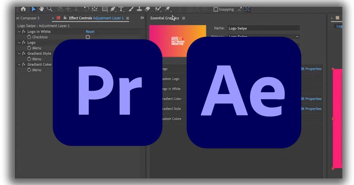 Motion Graphic Templates für Adobe Premiere selbst bauen (mit Adobe After Effects)